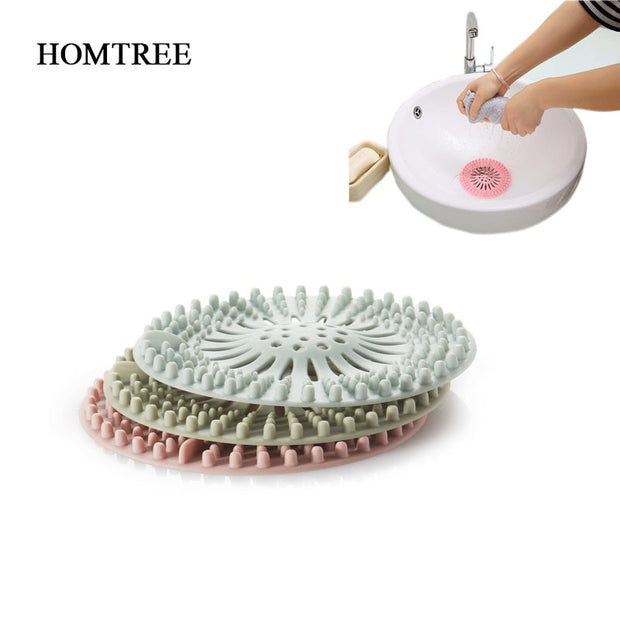 Round Floor Drain Cover Plug Water Filter