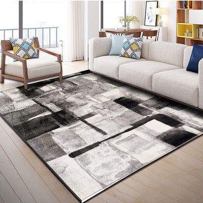 Nordic Style Geometric Pattern Carpet