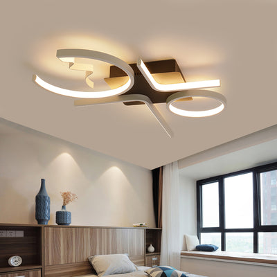 Aluminum Wave Ceiling Lights