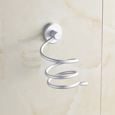 Chrome Finish Wall Mounted Hair Dryer