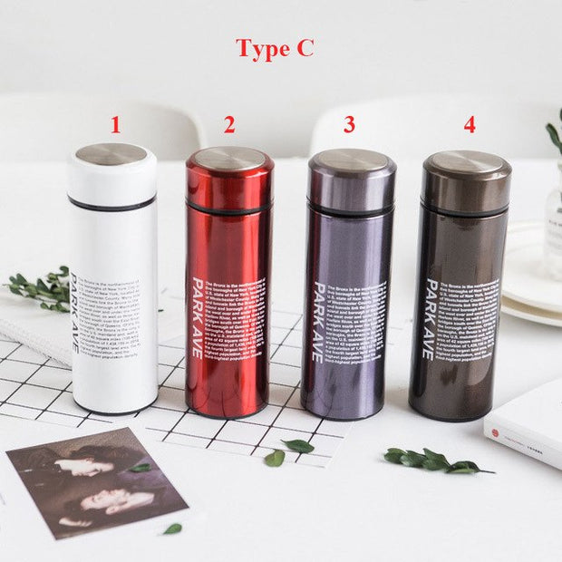 Thermos Bottle With Filter