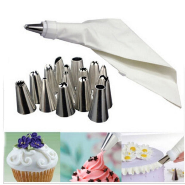 Rose Icing Piping Nozzle