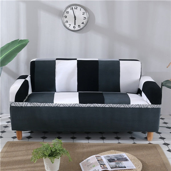 1PC Elastic Printed Sofa Covers