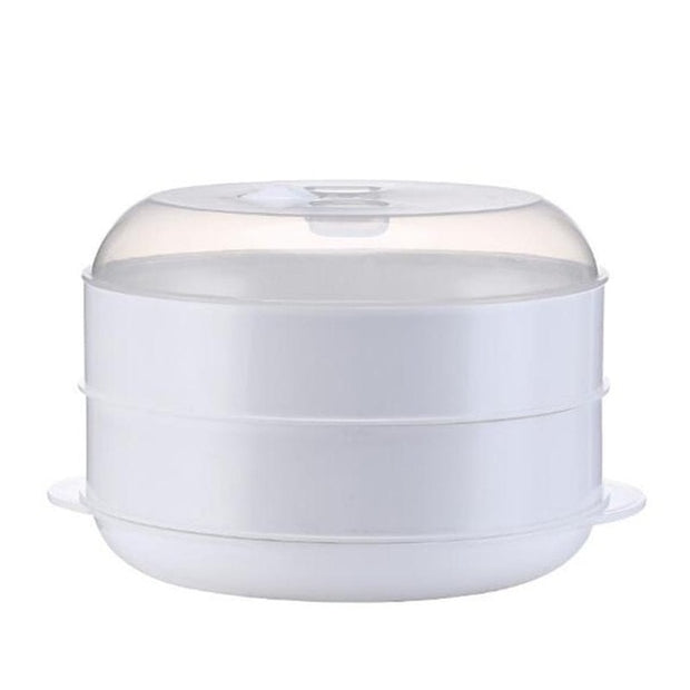 Steaming Basket Microwave Food Steamer