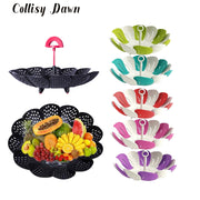 Collisy Dawn Steamed Basket Lotus Shape Steamer