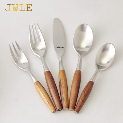 Steel Cutlery with Wooden Handle