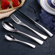 Shipping Black Cutlery Set