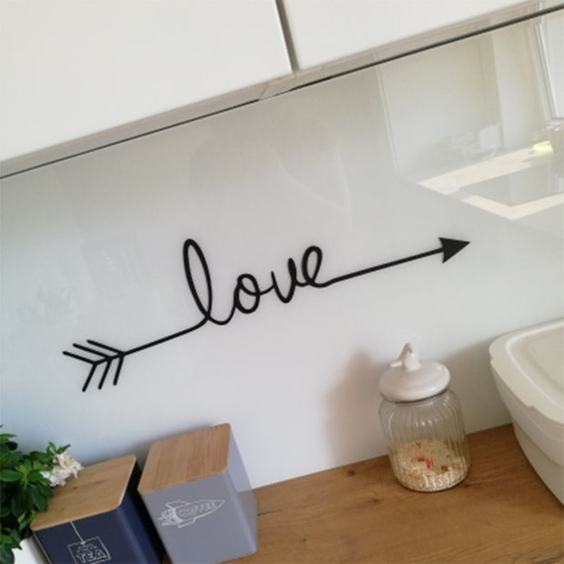 Quotes LOVE Art wall sticker
