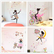 Fairy Girl Wall Stickers