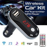 Bluetooth Car FM Transmitter Modulator