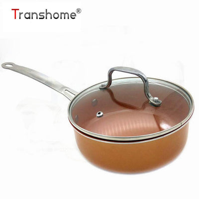 Copper Ceramic Coated Cookware Pan