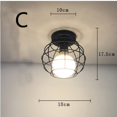Vintage Ceiling Lamp For Living Room