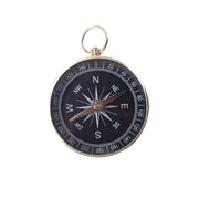 1pc Black Pocket Mini Camping Hiking Compass