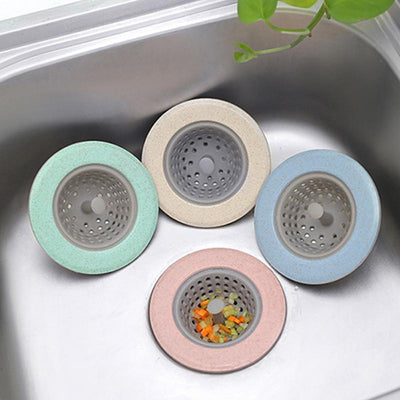 Silicone Wheat Straw Kitchen Sink Strainer
