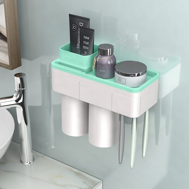 Inverted Toothbrush Holder Makeup Cleanser