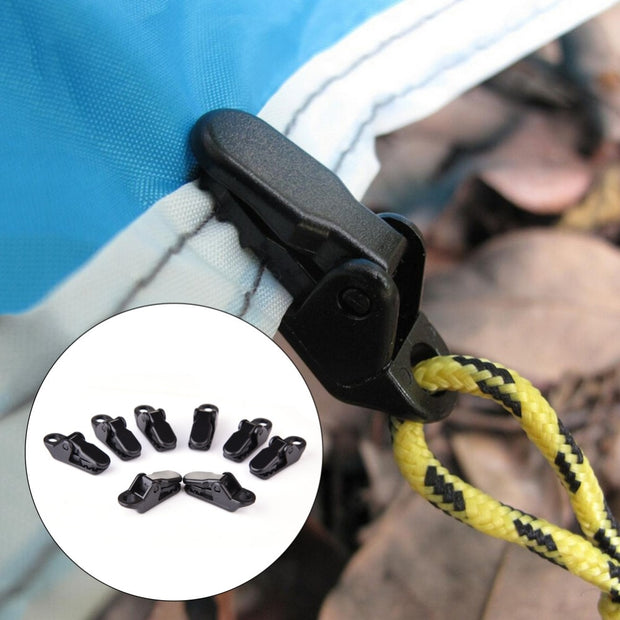 Alligator Plastic Tent Clips  tent