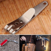 Suspension Clip with Key Ring Carabiner