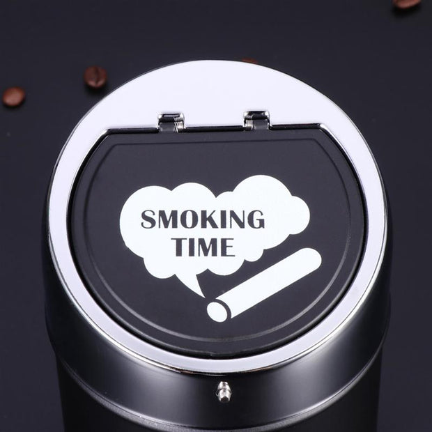 Black Cigarette Ashtray Car Cup