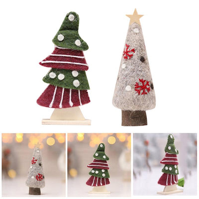 Felt Christmas Tree Decorations