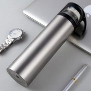 Portable Handgrip Thermos Bottle