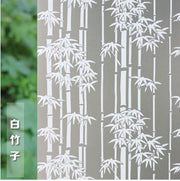 Windows paste paper-cut frosted window sticker