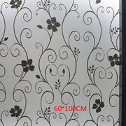 XUNZHE Home Decor 45cm wide*100cm Window paper stickers