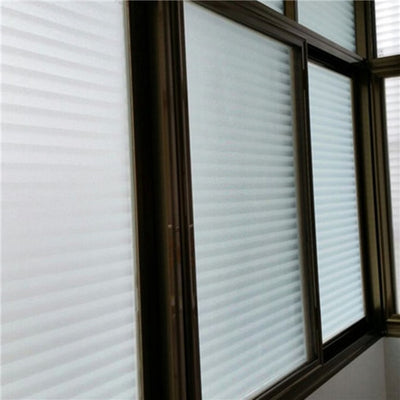Stripe Glass Frosted Protection Window Film Sticker