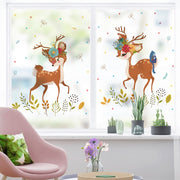 Stained Static Cling Window Film