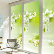 Fresh lily windows stickers