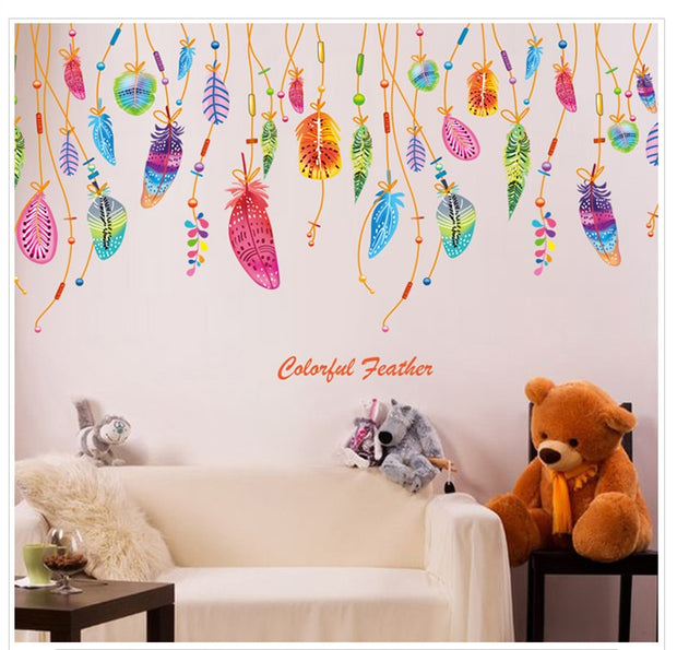Kids Room bedroom Glass stickers