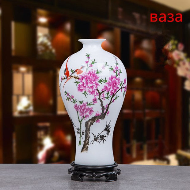 Rose Artificial Flower Calla Lily Peony Vase