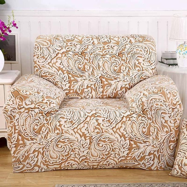 Stretch Sofa Cover Elatic Lion sofa covers