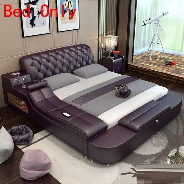 Tingkat Room Meble Leather bedroom