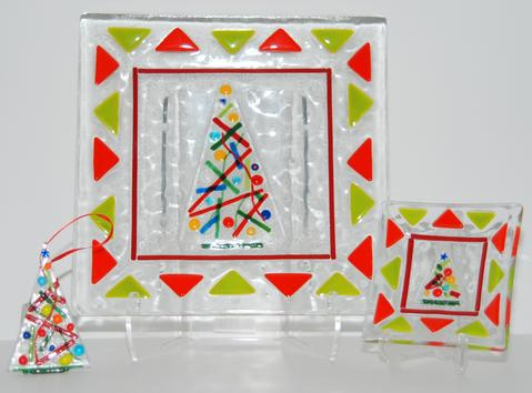 Christmas Fused Glass Collection