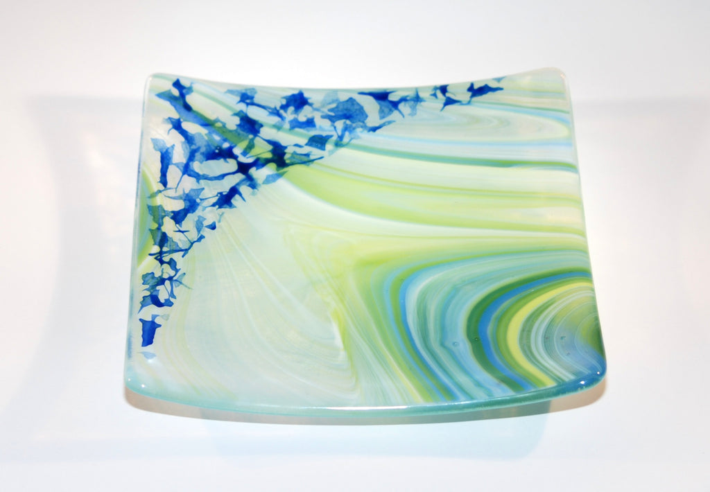 "Ride the Wave 6""Square Sushi Plate"