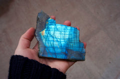 labradorite flash