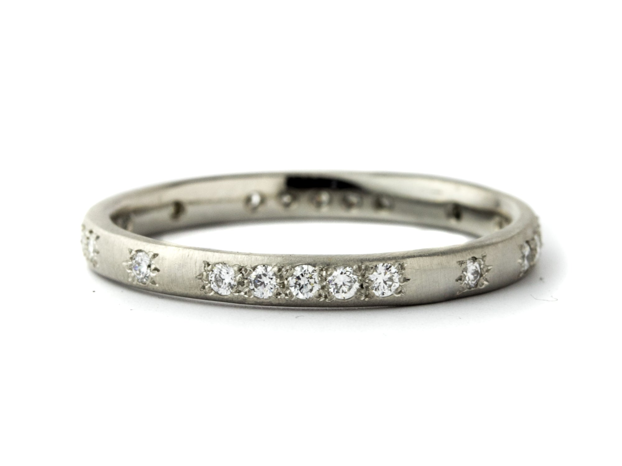 Round Thin Eternity Band
