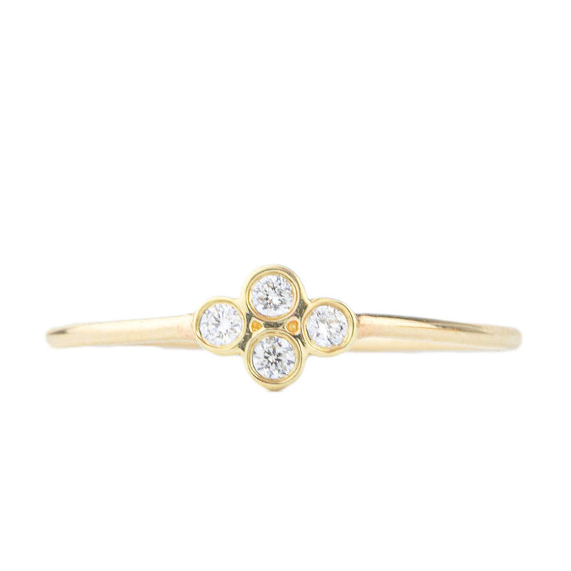 Quad Diamond Ring