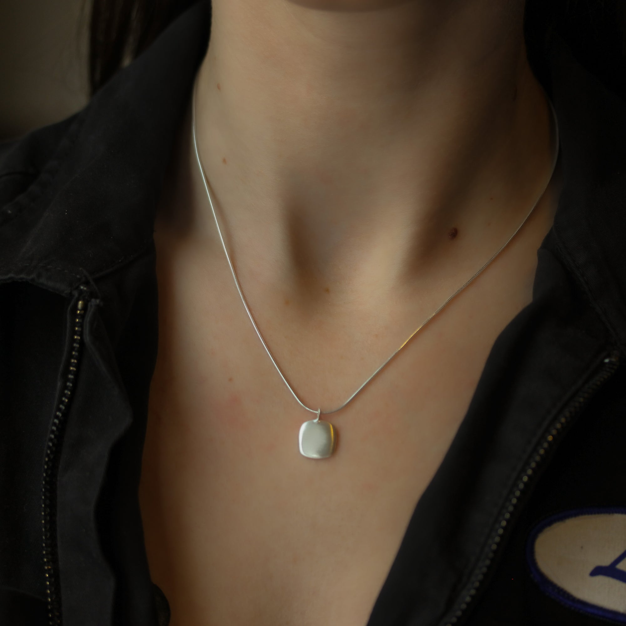 Double Organic Circle Earrings