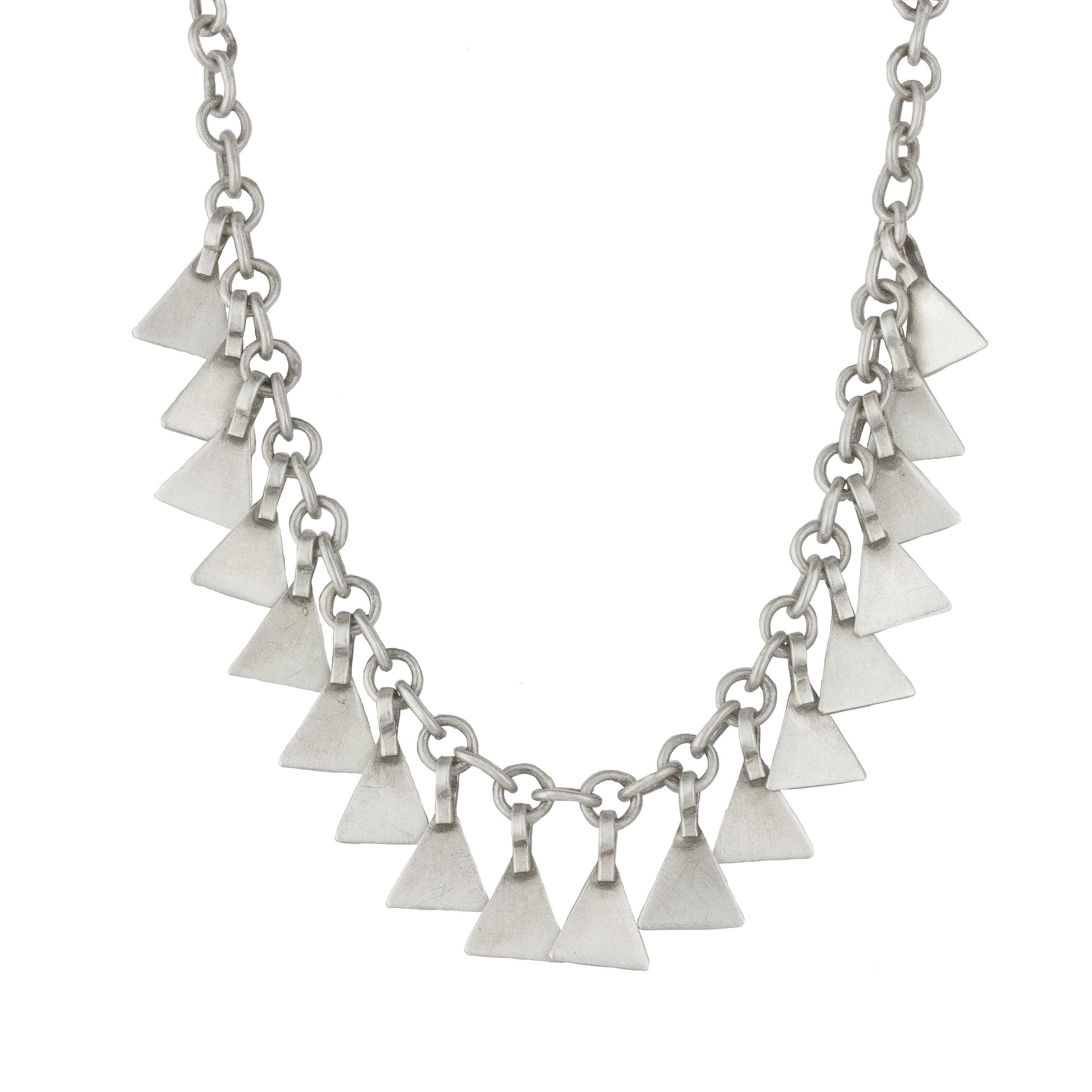 Trinity Paillette Necklace