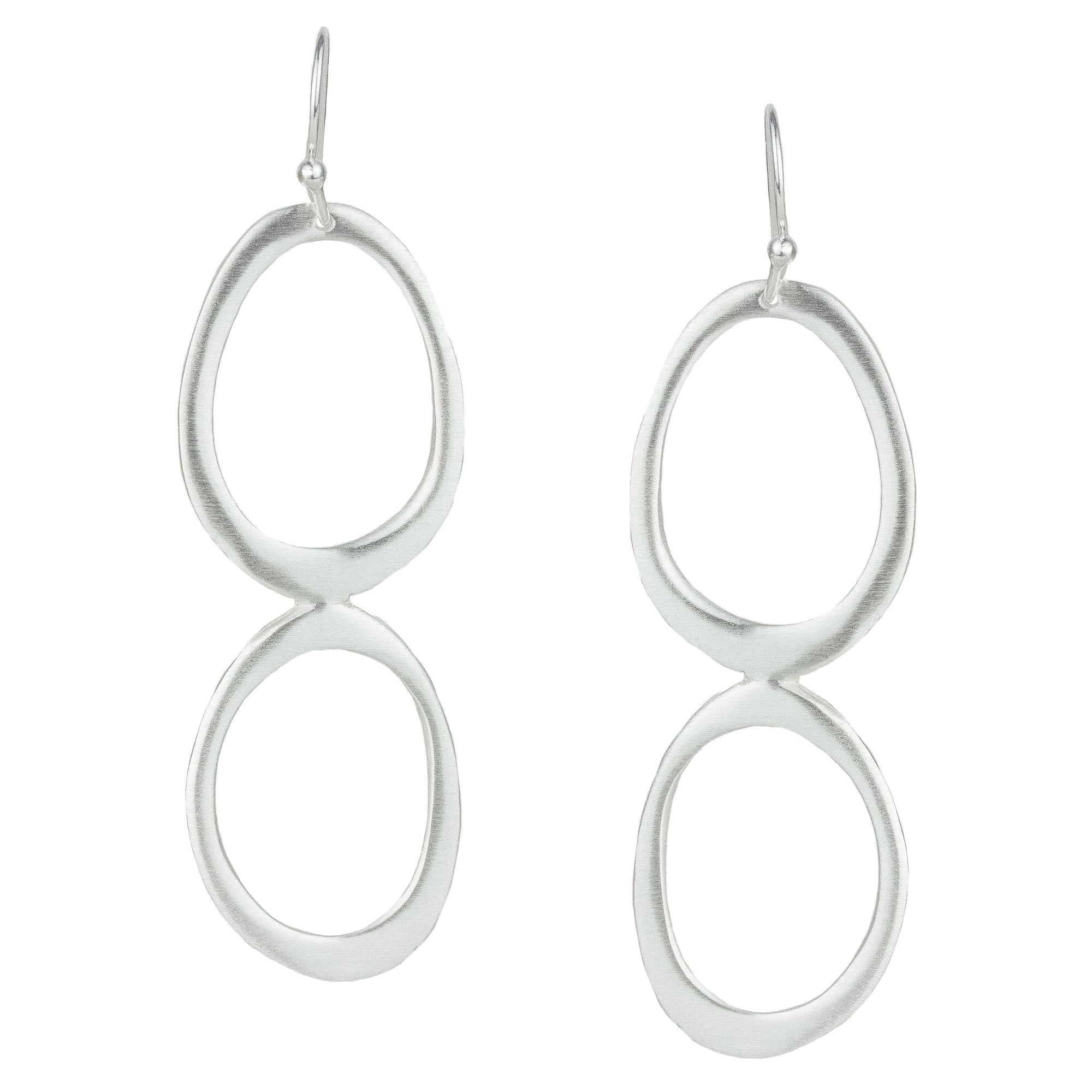 Stacked Oval Earrings