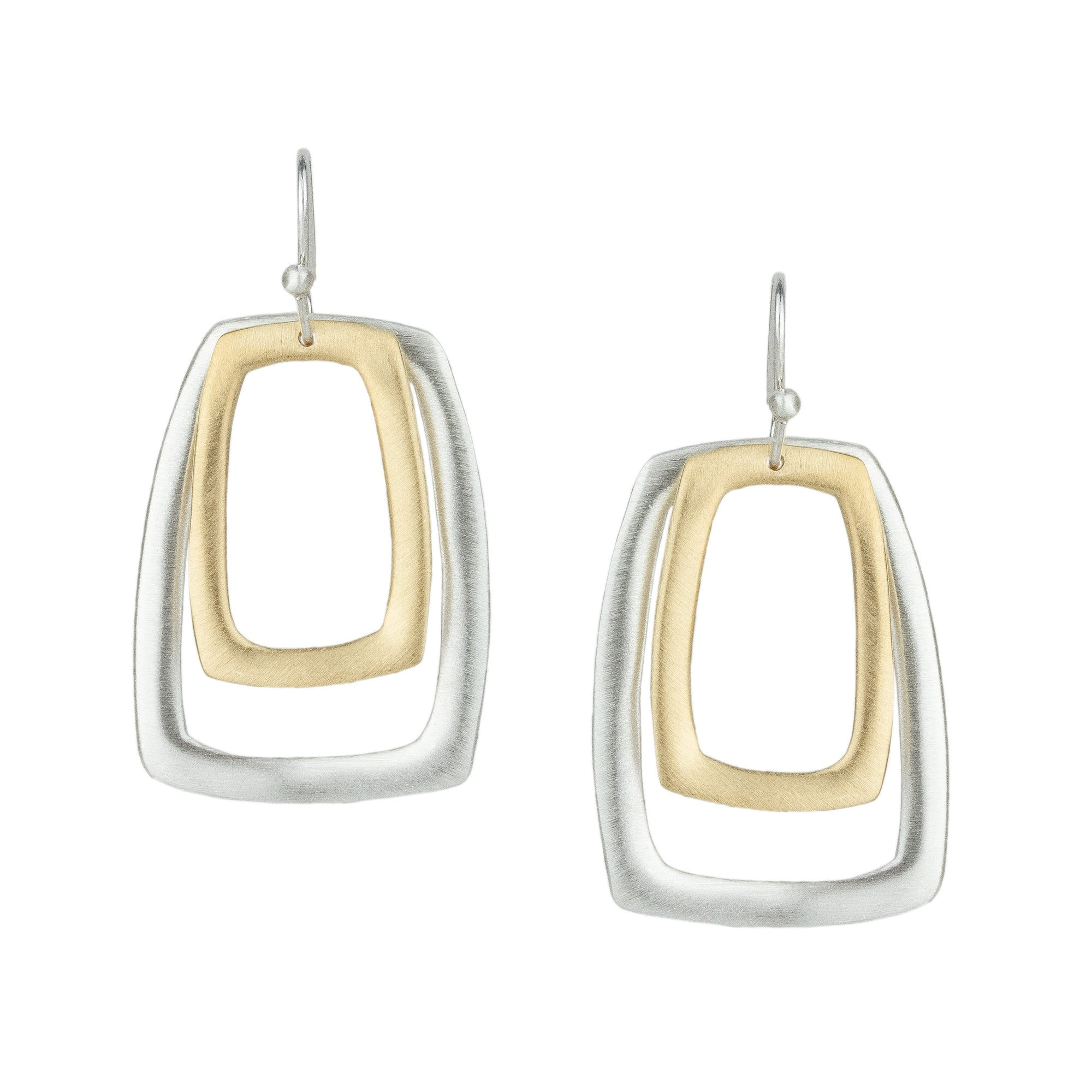 Two Rectangle Earrings