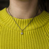 Chloe Round Salt & Pepper Diamond Ring