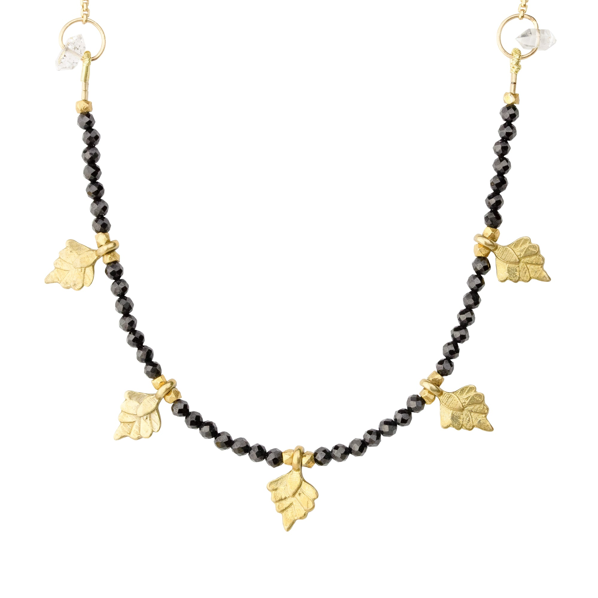 Nymph Black Spinel Necklace