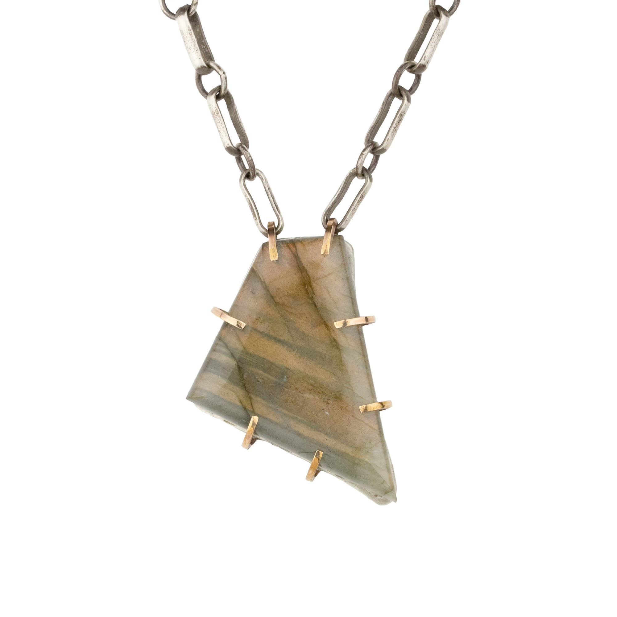 Sunset Labradorite Necklace