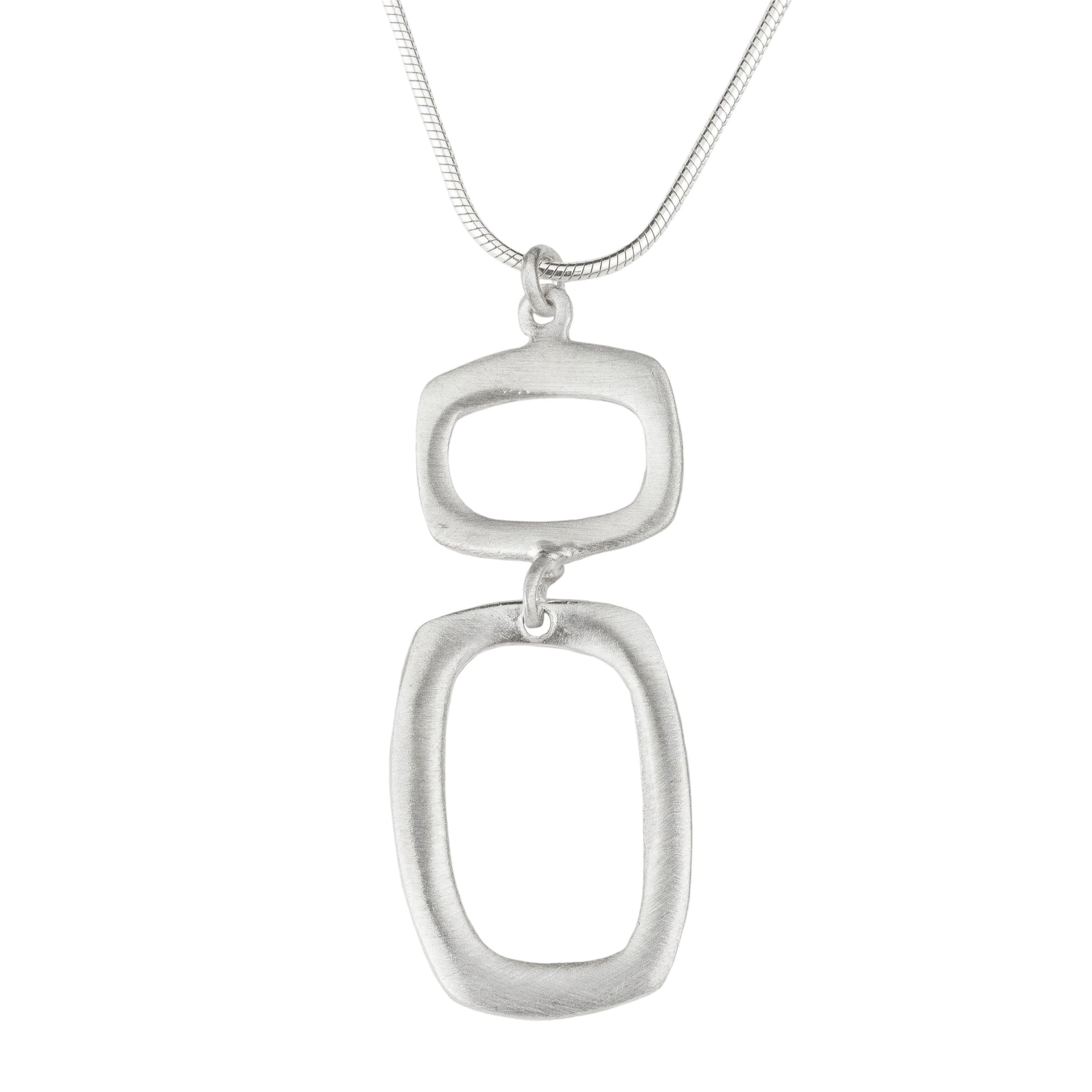 Rectangle and Square Necklace