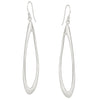 Organic Long Drop Earrings