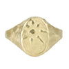 Gratitude Star Signet Ring