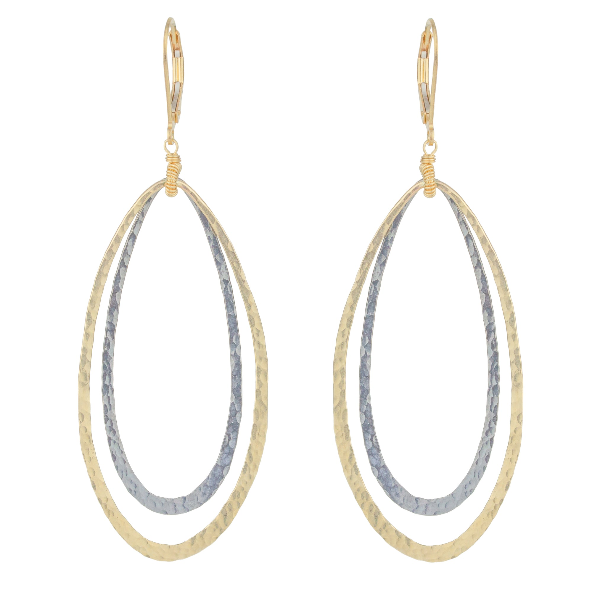 Double Oval Earrings