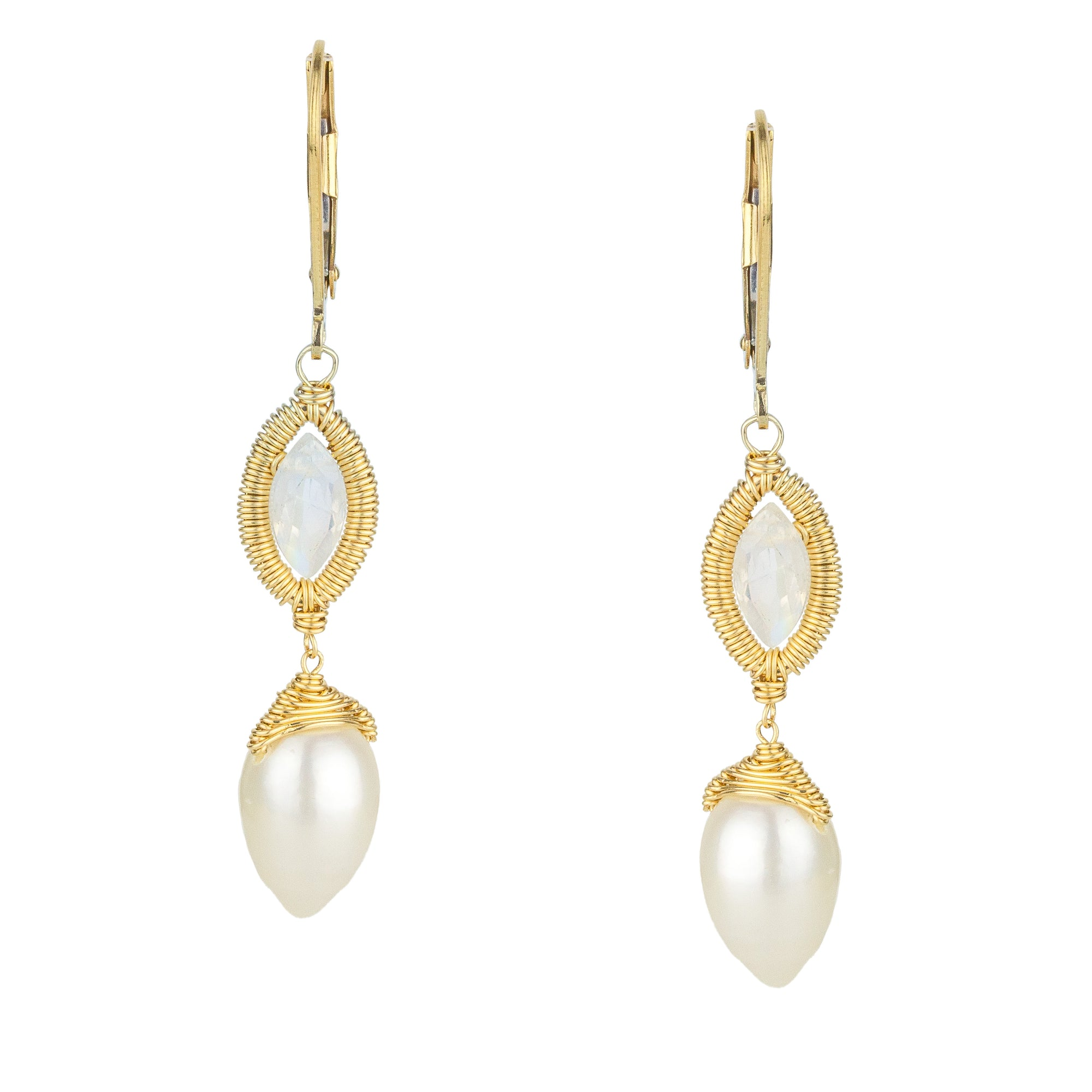 The Wedding Drop Earrings
